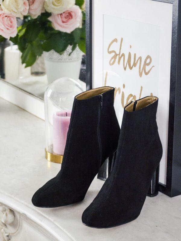 bottines noire femme grande pointure